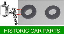 """MGA 1600cc 1958-60 - SU H4 1½"""" Float Chamber to Carburettor RUBBER JOINT SEALS"""