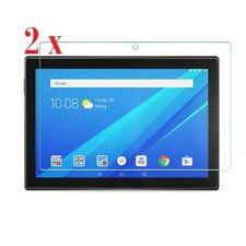 "2 x Clear Screen Protectors for Lenovo TAB4 10 10"" inch Tablet device"