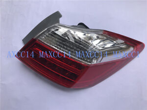 Right Rear Red Fog Lamp Outer Tail Light Clear For 2013 2014 2015 Honda Accord