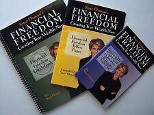 Suze Orman's Financial Freedom: Creating Wealth Now Program Support Material Lot