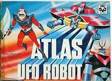 FIGURINE ATLAS UFO ROBOT 1978 EDIERRE EVADO SCAMBIO MANCOLISTE ALBUM RECUPERATE