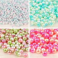 regenbogen glitzern perlen glasperlen runde ball goldfischglas filler