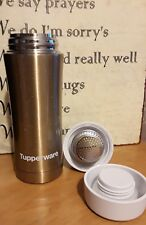 Tupperware 1½-cups Insulated Thermal Flask + Strainer Gold Award Consultants New