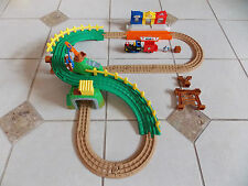 GeoTrax Timbertown Railway With Push Along Steamer Train - Fisher Price