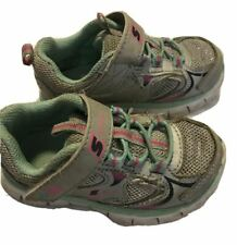 Skechers Girl's Silver Glitter Sneakers Shoes size 6 Orig.$45