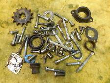 1974 Kawasaki KX125 Hardware parts lot case bolts etc. 74 KX 125