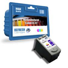 Cartouches d'encre tricolore pour imprimante Canon, pas de offre groupée