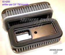 Triumph 2 airfilters OIF 750 TR7 T140 1973- 60-4265 luftfilter paar auswaschbar