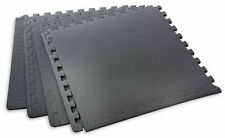 BodyPower™ Interlocking Jigsaw Floor Guards Mats (Pack of 4)