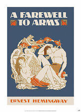 A Farewell to Arms POSTER  of Hemingway Book Cover (A1 size)
