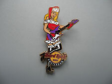 Hard Rock Cafe Amsterdam 2009 - Sexy Blond Haired Girl - in Chrismas Costume Pin