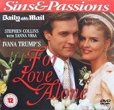 DVD Daily Mail Promo Ivana Trump's FOR LOVE ALONE Stephen Collins & Sanna Vraa