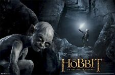 Lord Of The Rings The Hobbit Gollum Cave Poster Print New 22x34 Free Ship