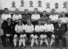 PORT VALE FOOTBALL TEAM PHOTO 1957-58 SEASON