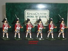 King and Country maggiori HIGHLANDERS MARCIA METAL Toy Soldier Figure Set