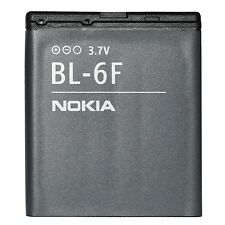 BATTERIE ORIGINE NEUVE NOKIA BL-6F BL6F 1200mAh 3,7V 4,4Wh N78 N79 N95 8GB 8GO