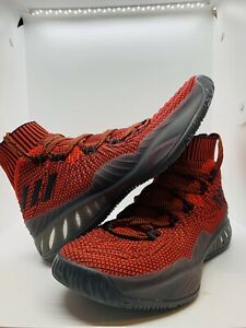 Adidas Crazy Explosive 201 ARTCQ0613 Red Missing Insoles Size 9