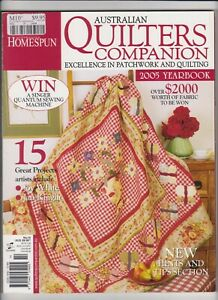 Australian Quilters Companion Magazine - Issue No 14 - 2005