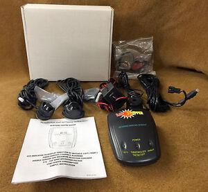 """NIB Crimestopper CA-5001 """"BackStopper"""" Reverse Parking Sensor System CA5001"""