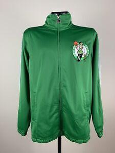 Men's Starter Kelly Green Boston Celtics Basketball Full Zip Track Jacket S NWT