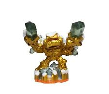 Gold Flocked Lightcore Prism Break Skylanders Giants Gamestop Employee Edition