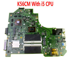 For Asus K56CM Motherboard With i5 CPU Mainboard GT630M 2GB RAM HM76 100% Test
