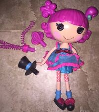 "12"" LaLaLoopsy Silly Hair Harmony B Sharp Star Doll Full Size Musical Spin Hair"