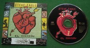 Steve Earle El Corazon inc Ft. Worth Blues / Poison Lovers + CD