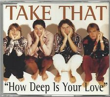 TAKE THAT / HOW DEEP IS YOUR LOVE * NEW MAXI CD * NEU *