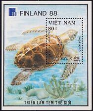 VIETNAM Bloc N°40** Bf Tortue, 1988 Vietnam 1971 Sheet, Turtles MNH