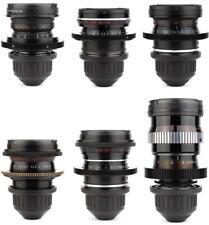 @ 6x LOMO 18 28 35 50 75 150 Lens Set w/ ARRI PL Arriflex Mount URSA Alexa RED @