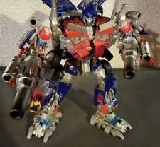 Custom transformers rotf leader class optimus prime with Cubex double cannons