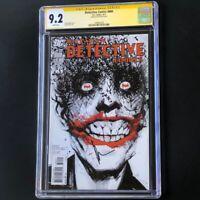 Detective Comics #880 💥 CGC 9.2 SS 💥 SIGNED by JOCK! Batman Joker DC 2011