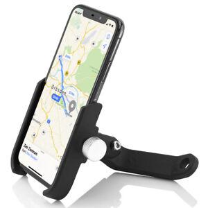 Alu Motorrad Halterung Fahrrad Handy Rückspiegel Halter e-Bike Smartphone Roller