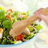 Cake Pastry Clip Kitchen Tool Salad Clamp BBQ Food Clip Wooden Bamboo Tongs