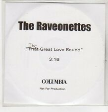 (ER300) The Raveonettes, The (That) Great Love Sound - DJ CD