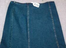 CITY GIRL Women Jean Skirt Size 16 -  W38 X L32. TAG NO. A114