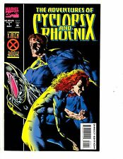 4 The Adventures of Cyclops and Phoenix Marvel Comic Books # 1 2 3 4 X-Men CB4