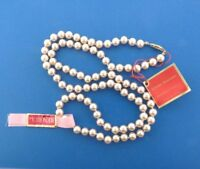 """Vintage Menorca Pearl Necklace Strand NWT 8 mm 30"""""""