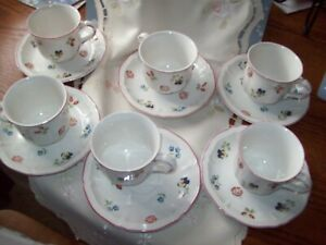 Villeroy & Boch Coffee cups and saucers