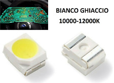 20 LED SMD PLCC2 3528 QUADRO STRUMENTI AUTO BIANCO FREDDO 10000-12000K 8-9LM