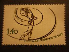 Timbre - FRANCE - Fédération française de GOLF - 1980 - neuf ** - n° 2105