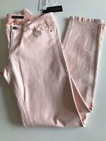 MARCCAIN COLLECTIONS Schicke 5 Pockets Jeans Apricot Rosé Gr N3/38 NEU ETIKETT