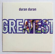 Duran Duran           ** PROMO CD **         Greatest Hits