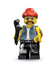 LEGO MINIFIGURES  SERIE 10 71001  MECCANICO MOTO  NUMERO  16  NUOVO