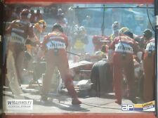 Large Williams F1 Laminated Poster
