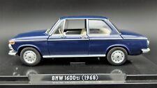 MODELLINO AUTO BMW 1600ti ti SCALA 1:24 CAR MODEL MINIATURE DIECAST COLLEZIONE