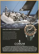 CORUM Admiral's Cup Competition 48 Gold - Watch Print Ad