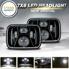 "DOT Approved 7x6"" in LED Headlight Sealed Hi-Lo Beam For Nissan Pickup Hardbody"