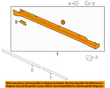 Lincoln FORD OEM 13-16 MKZ Exterior-Rocker Panel Molding Trim Right DP5Z5410176A